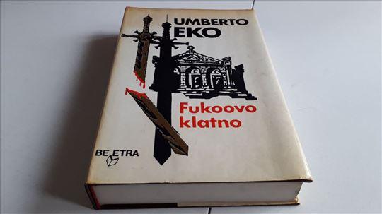 Fukoovo klatno Umberto Eko, očuvana Beletra