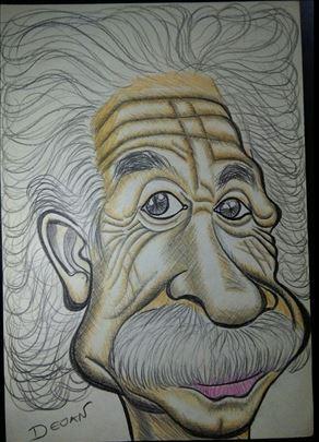 Crtanje portreta i drugih crteža po narudžbini