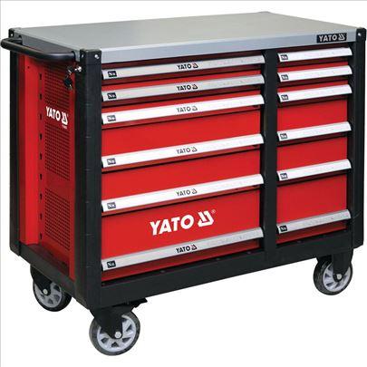 Kolica za alat sa 12 fioka Yato YT-09003 Profi.