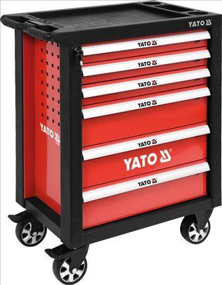 Kolica za alat sa 6 fioka Prazna-YATO YT-55299