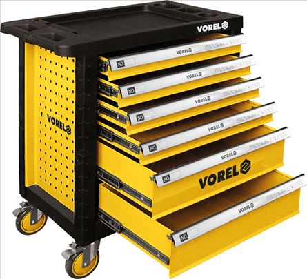Kolica za alat sa 6 fioka profi. Vorel YT-58539