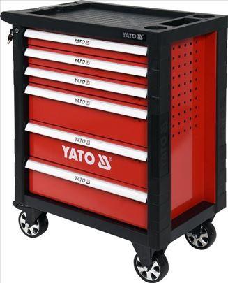 Kolica za alat sa 6 fioka sa 177alataYato YT-55300