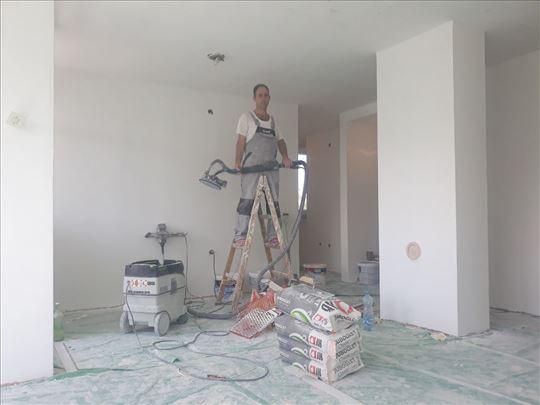 Krečenje, renoviranje i adaptacija stanova, lokala