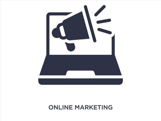 Online oglašavanje, izrada banera, vođenje FB, IG