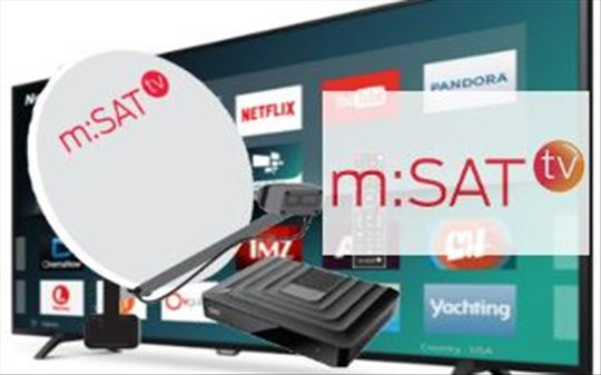 m:SAT TV+internet -