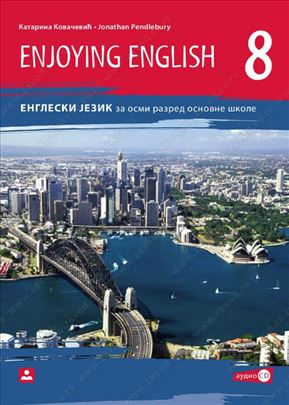 ENJOYING ENGLISH 8 - udžbenik i radna sveska