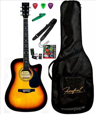 Firefeel S022C SB PAK Akustična Vestern gitara