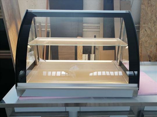 Stona topla vitrina 100x70x55cm