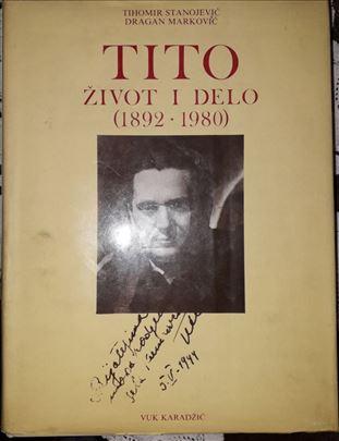 """Knjiga """"Tito, život i delo"""""""