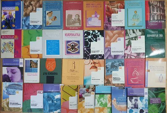 MEDICINSKA ŠKOLA novi udžbenici, skripte povoljno