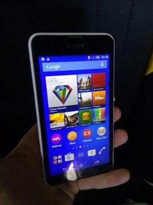 Sony Xperia E2003 bela sa zastitnom folijom!