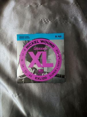 Nickel Wound DAddario EXL120