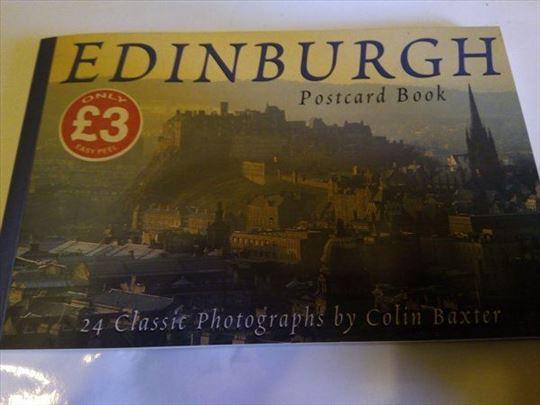 Razglednice Edinburga 24 komada