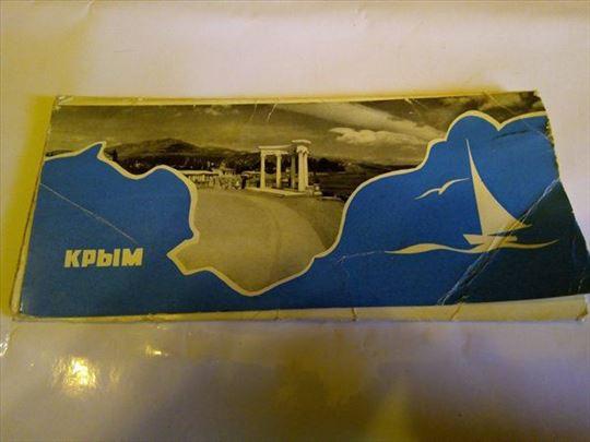 Razglednice Krima iz 1965, 8 komada