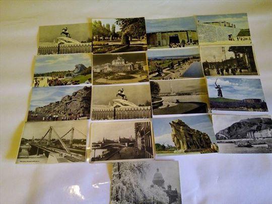 Ruske razglednice stare 17 komada