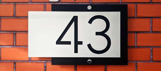 Brojevi za kuće, zgrade - kućni brojevi