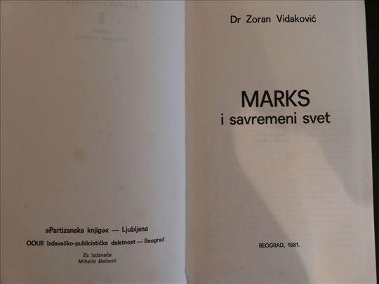 Marks i savremeni svet - Zoran Vidakovic