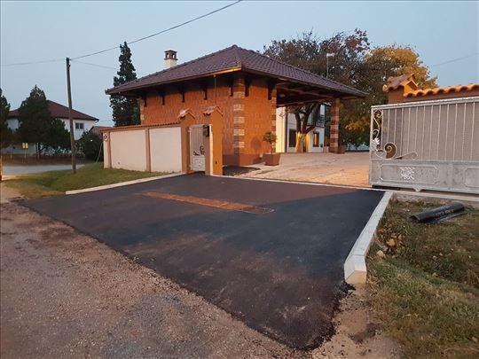 Asfaltiranje malih i velikih površina i asfalt