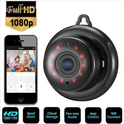 Mini Ip WiFi Kamera HD 1080 Bežična