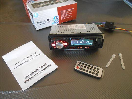 Auto radio Bluetooth, USB , AUX , Micro SD + Dalji