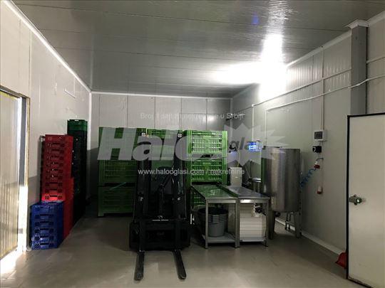 Hladnjača sa proizvodnim prostorom
