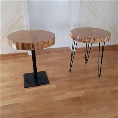 Klub stolovi - hrast -