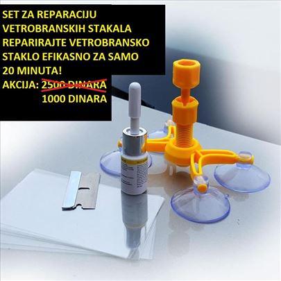 Komplet za reparaciju vetrobranskih stakala