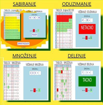 Matematika za II osnovne škole online