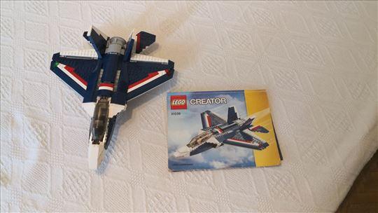 Lego 31039 Plavi Mlazni Avion 3 u 1