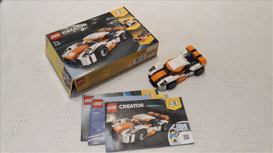 Lego 31089 Sunset Racer Car