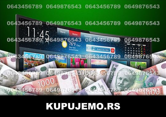 KUPUJEMO Smart/3D/4K televizore (064/3456789) BG
