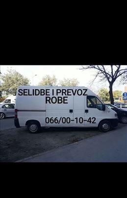 Selidbe-prevoz Novi Sad