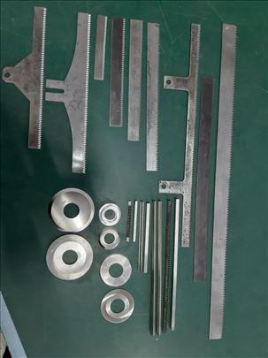 Izrada sekućih noževa za pakerice i kartonažu