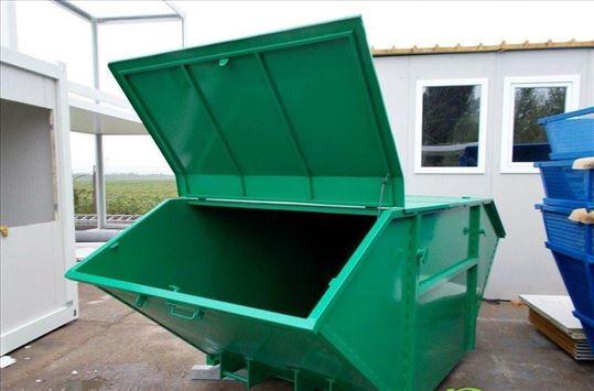Metalni komunalni kontejneri - URBANA OPREMA DOO