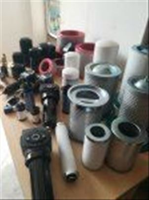 Filteri, separatori ulja,rezervni delovi za kompr.
