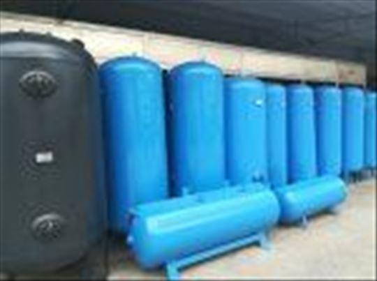 Rezervoari za kompr. vazduh od  200l do 10000l