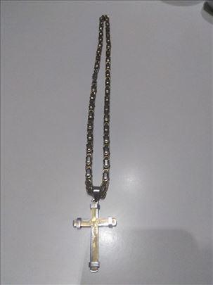 Hhiruški čelik, lanac i krst