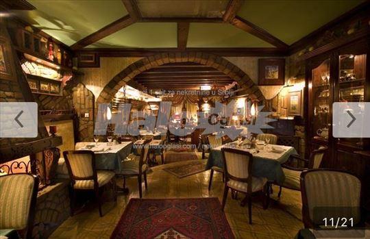 Lux opremljen restoran sa 3 sobe