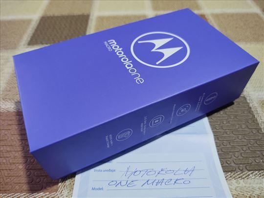 Motorola One Macro / Vakum / Dual / 24 meseci gar.
