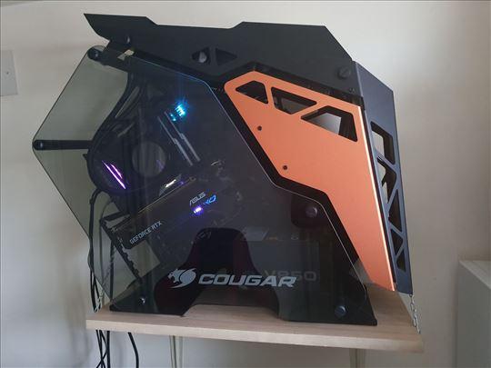 Gaming PC Cougar Conquer I7-8700k Asus RTX2080TI