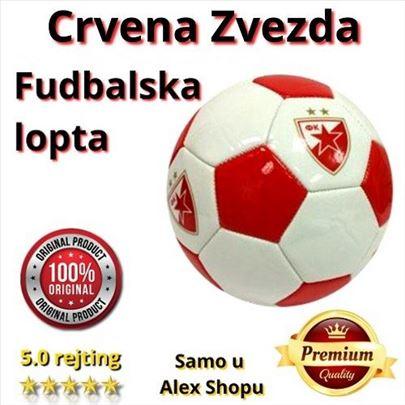 Kožna fudbalska lopta Crvena zvezda
