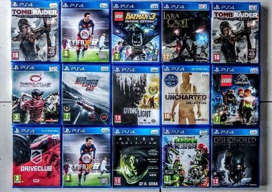 Iznajmljivanje PS4 igrica