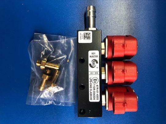 RAIL injector  IG1 - 3 cilindra, 3 oma