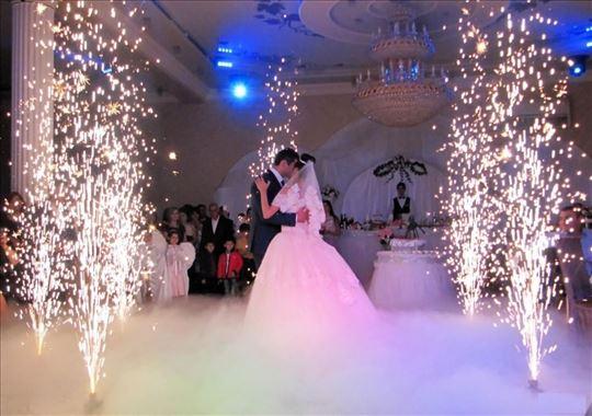 Suvi led - specijalni efekti za svadbe
