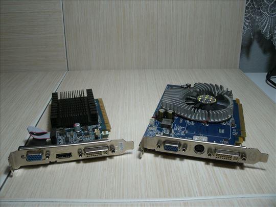 Grafičke Nv210 1GB ddr3 i X1550 256MB ddr2!