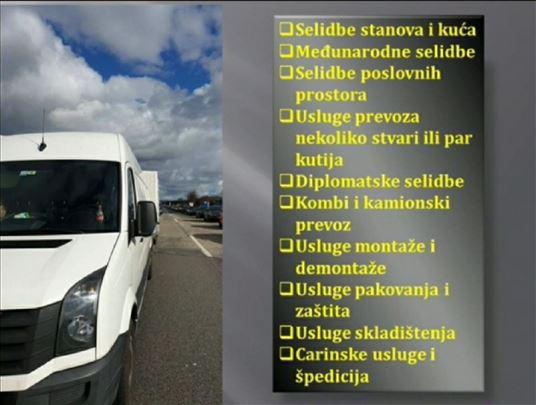 Najpovoljniji prevoz i selidbe!