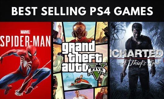 PS4 igre na iznajmljivanje najnovija izdanja