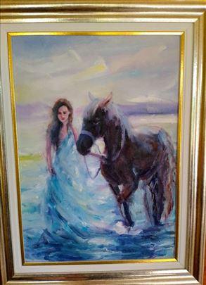 devojka sa konjem