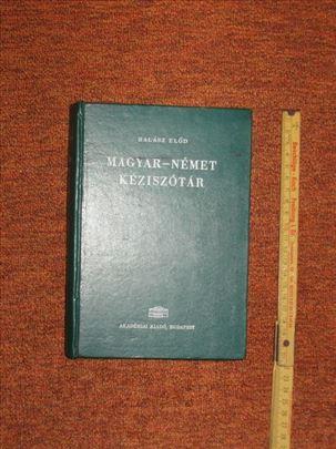 Magyar - Nemet keziszotar