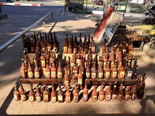 Ukrasne slavske flaše ručni rad
